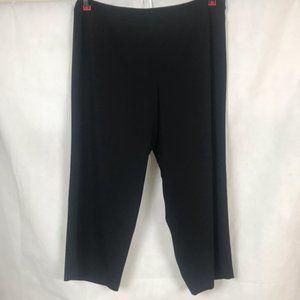 Talbots Woman Petite Black Slacks Size 22W
